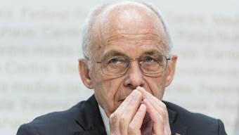 Bundesrat Ueli Maurer hat am Mittwoch das grösste Rettungspaket der Schweizer Wirtschaftsgeschichte vorgestellt. (Archivbild)