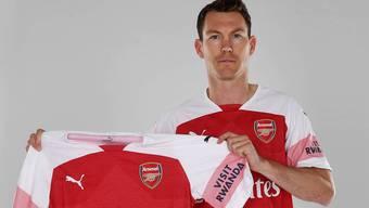 Stephan Lichtsteiner streift in der kommenden Saison das Arsenal-Trikot über.