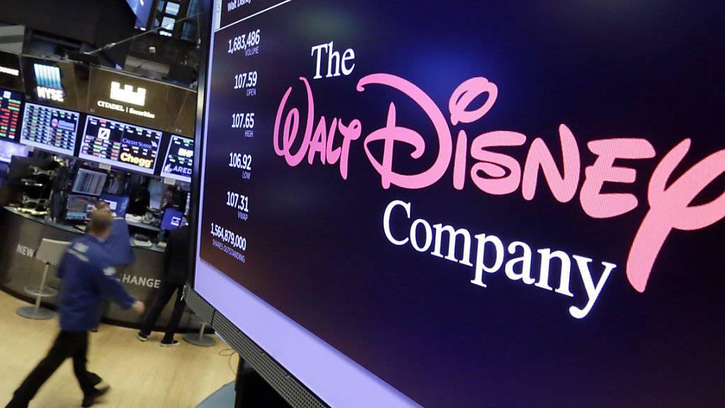 Die US-Steuerreform zahlt sich beim Walt-Disney-Konzern aus - die Gruppe steigert den Gewinn im ersten Geschäftsquartal markant. (Archivbild)