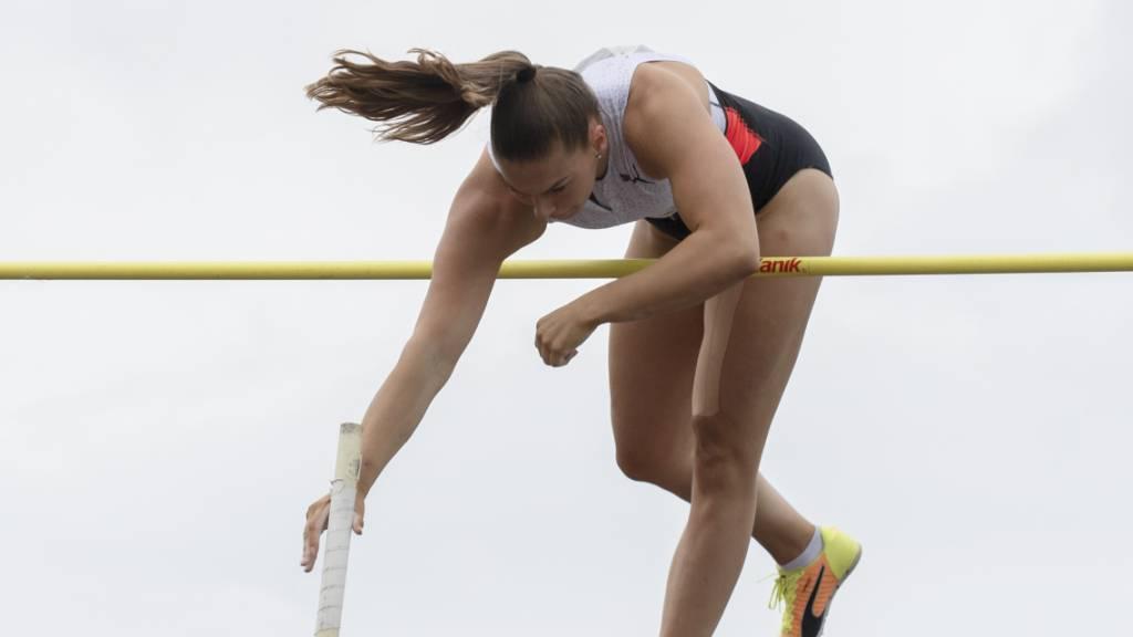 Hallen-Europameisterin Angelica Moser überzeugt