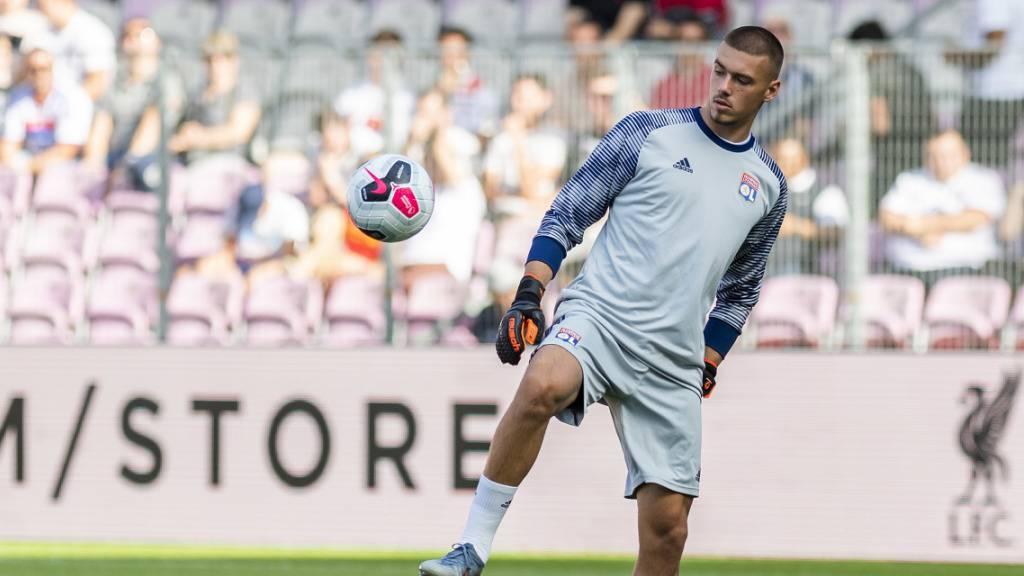 Bis vor Kurzem stand Anthony Racioppi noch bei Lyon unter Vertrag