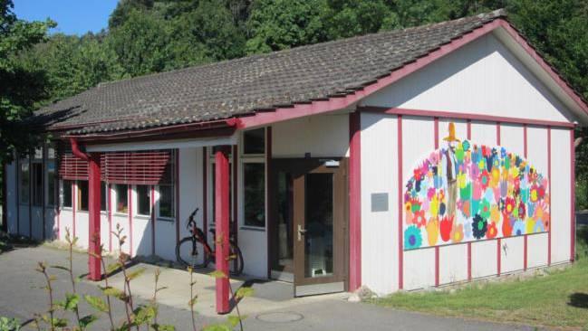 Dieser Kindergartenpavillon soll ersetzt werden.