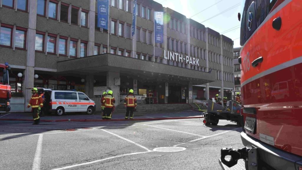 Brand in Einkaufszentrum – Niemand verletzt