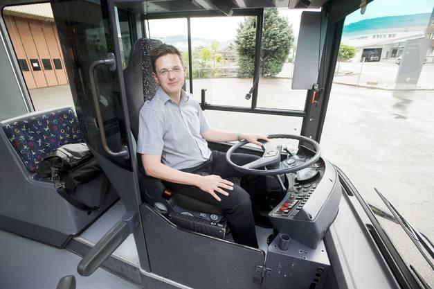 az-Chefredaktor und az-Wahlkampfbuschauffeur Christian Dorer