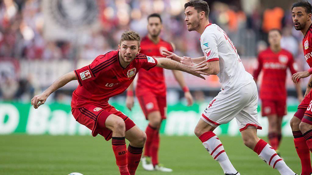 Christoph Kramer (links) kehrt nach einer Saison bei Bayer Leverkusen zu Borussia Mönchengladbach zurück