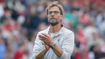 Jürgen Klopp reitet mit dem FC Liverpool auf einer Erfolgswelle
