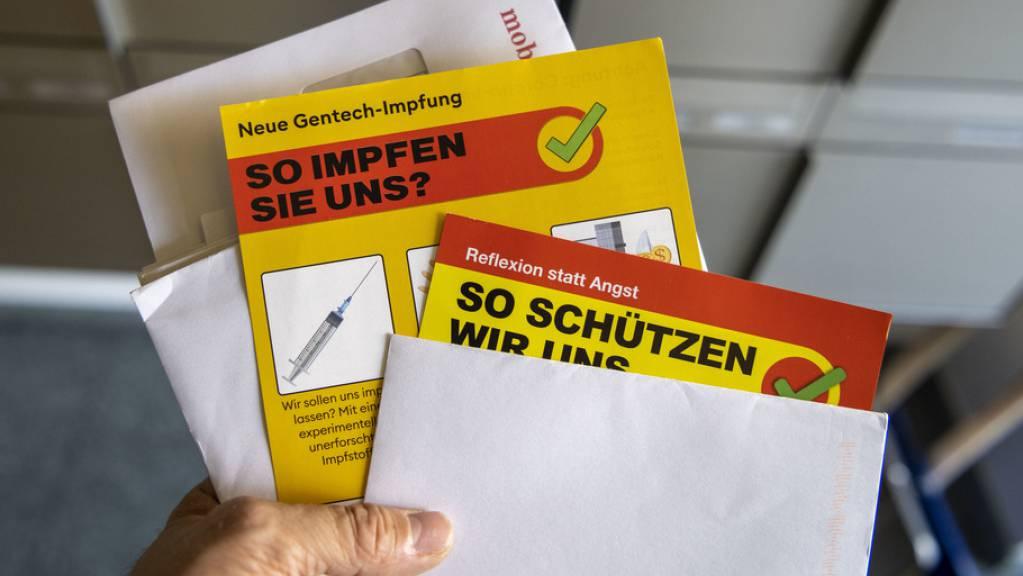 Gegen die Corona-Massnahmen haben am Samstag rund 150 Personen in Kreuzlingen demonstriert. (Symbolbild)