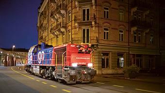 Ein Zug der SBB Cargo im Kreis 5. (Archiv)