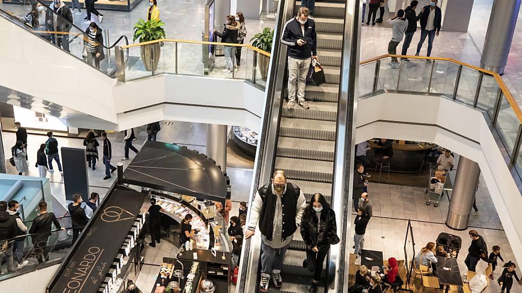 Detailhandelsumsätze verzeichnen im April Rekordanstieg