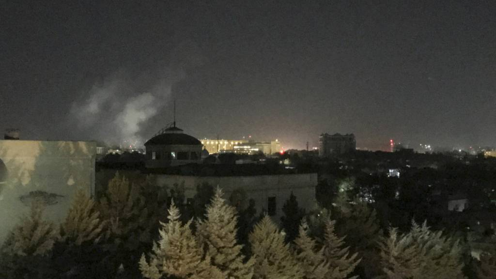 Explosion nahe US-Botschaft in Kabul