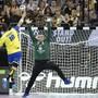 Brasilien (im Bild ein Abschluss von Felipe Borges) verblüfft an der Handball-WM mit einem Sieg in der Hauptrunde in Köln über Kroatien