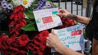Trauerbekundungen in Istanbul
