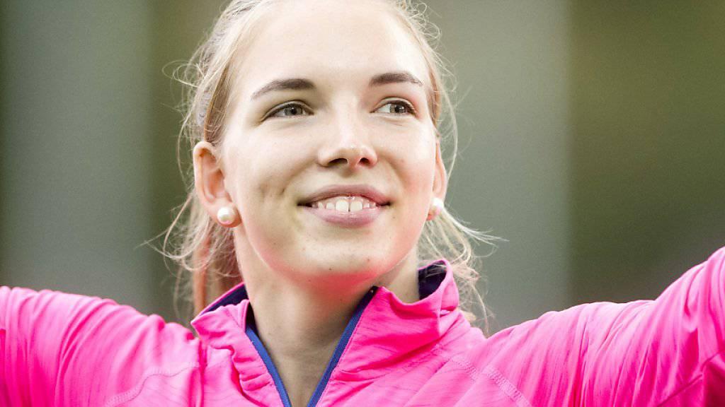Géraldine Ruckstuhl lächelt in die Kamera
