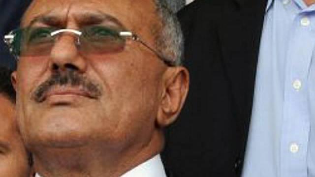 Der jemenitische Präsident Saleh