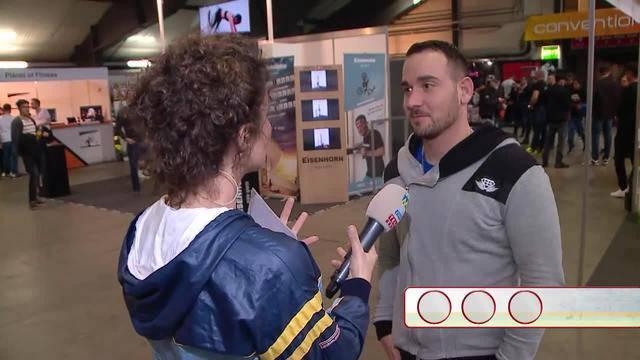Quizzenswert an der Fitnessmesse Luzern