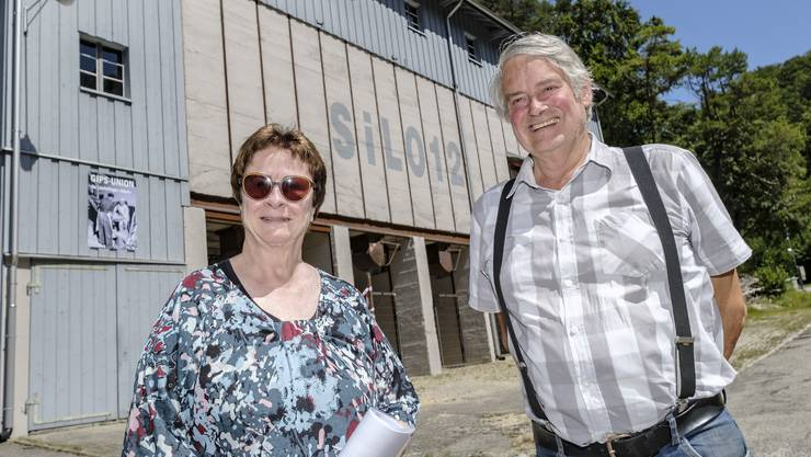 Das Museum Silo 12 in Läufelfingen existiert seit fünf Jahren. Treffen mit Albert Frei, Präsident des Kultur- und Museumsvereins Läufelfingen, und Margrit Ballscheid