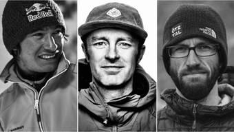 Die bekannten Extremsportler David Lama (AUT) , Jess Roskelley (USA) und Hansjörg Auer (AUT) verunglückten bei einem Lawinenabgang in Kanada tödlich