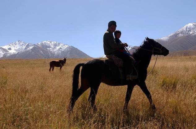 Auch in Zentralasien arbeiten «Cowboys».