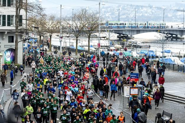 Schon seit 40 Jahren findet der Silversterlauf in Zürich statt.