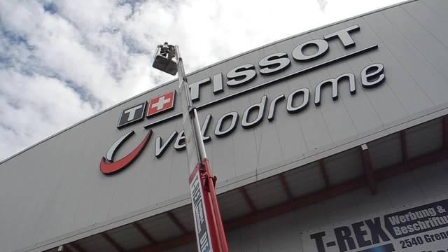 Das Tissot Velodrome hat eine neue Beschriftung erhalten