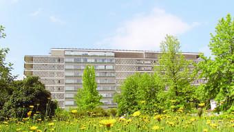 Blick auf das Felix-Platter-Spital