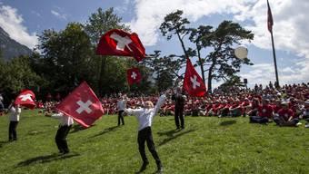 Rund 1300 Personen haben auf dem Rütli einen friedlichen und unbeschwerten 1. August gefeiert.