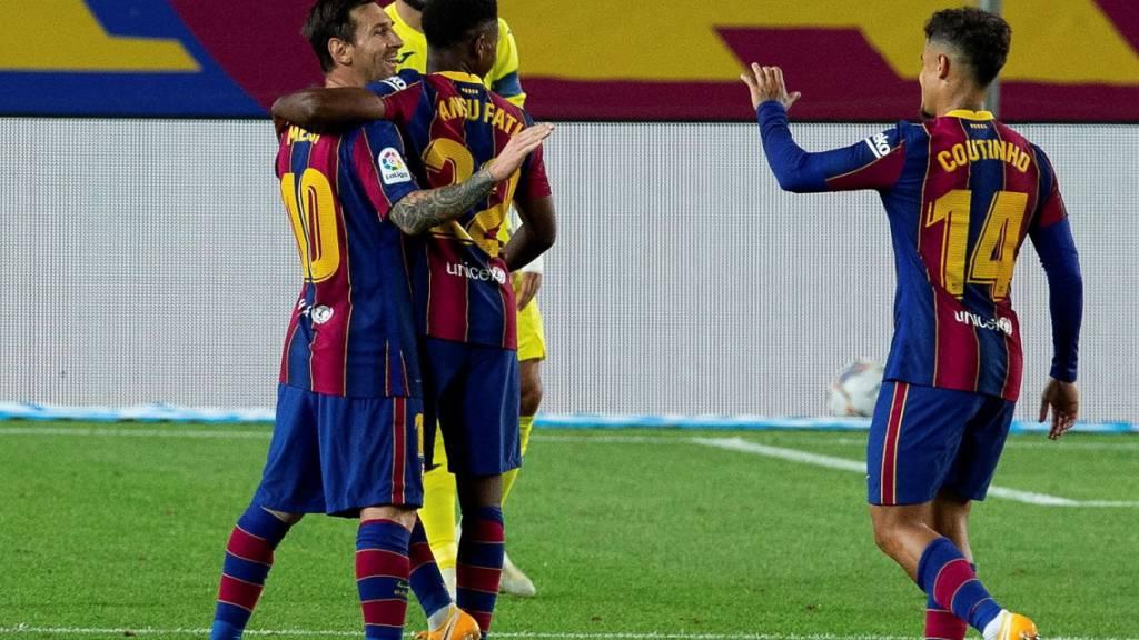 Harmonischer Saisonauftakt für Barcelona