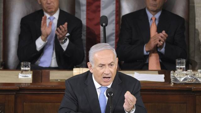 Israels Ministerpräsident Netanjahu vor dem US-Kongress