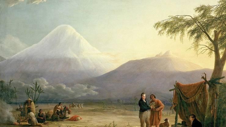 Alexander von Humboldt war der erste Klimaforscher. Heute wäre er 250 Jahre alt.