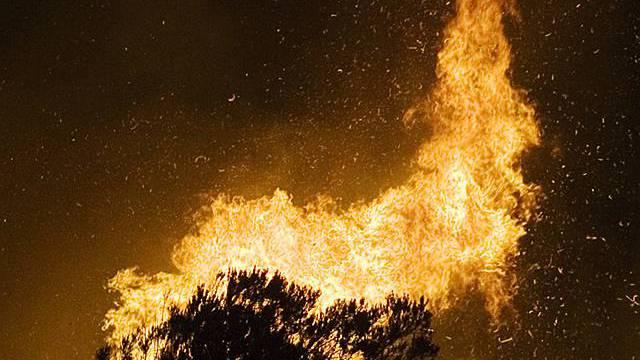 Lodernde Feuer in Südeuropa (Archiv)