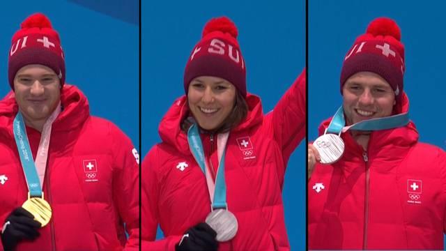 Medaillensegen für Schweizer Sportler und Tourismus