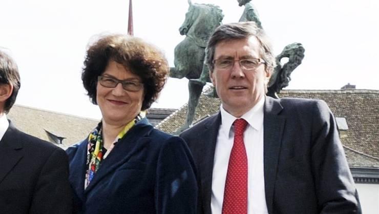 Feindbild und Integrationsfigur: Ruth Genner und Martin Waser