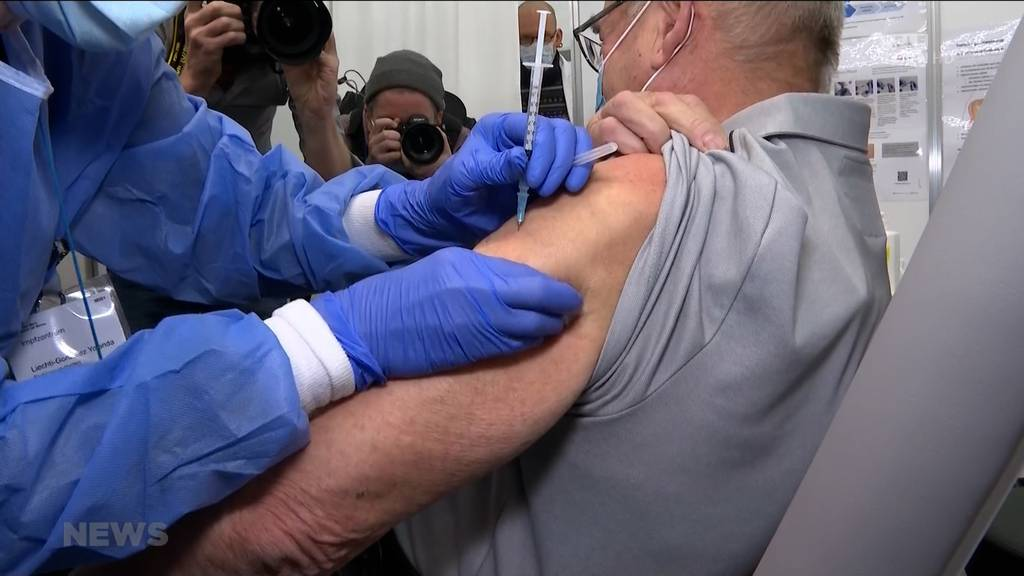 Impfstart im Kanton Bern: Corona-Impfaktion hat begonnen