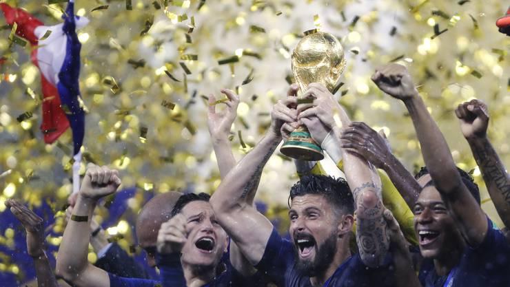 Frankreich gewinnt die Fussball-Weltmeisterschaft!