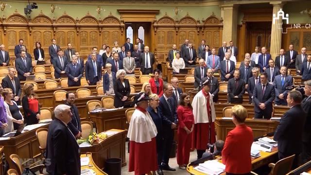 Nationalrat begrüsst drei neue Mitglieder
