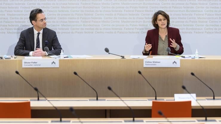 Unzufriedene Finanzkommission: Olivier Feller (FDP/VD) und Céline Widmer (SP/ZH) kritisierten die Swiss.