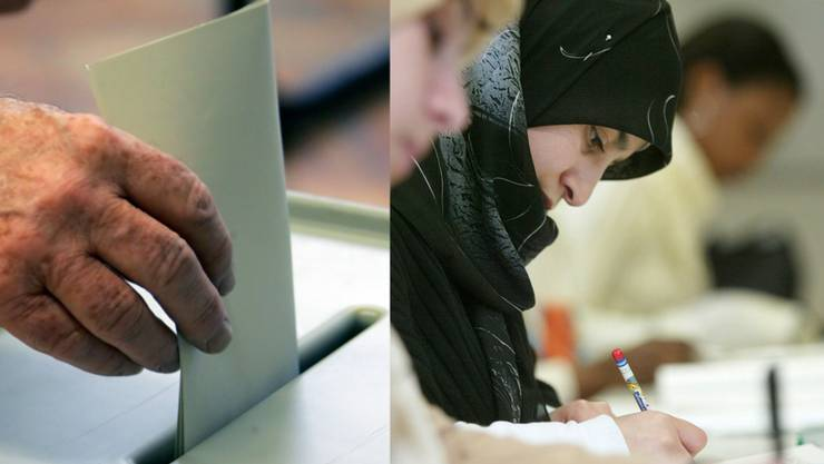In der Westschweiz ist es heute schon Standard, das Ausländer auf Kantons- und Gemeindeebene nicht nur an Abstimmungen teilnehmen, sondern sich auch wählen lassen dürfen. (Symbolbild)