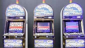 Spielautomaten.
