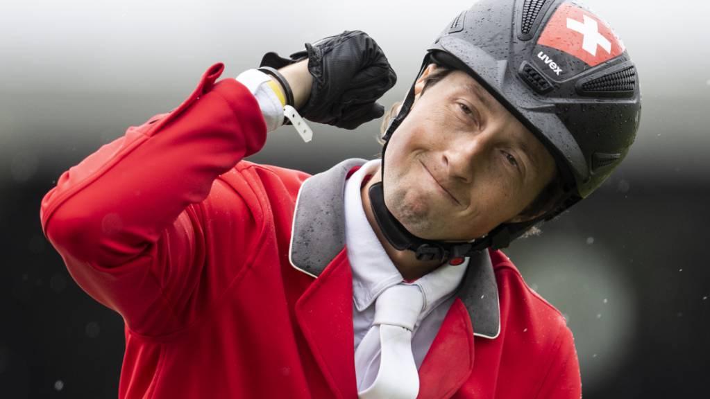 Martin Fuchs freut sich über einen weiteren tollen Sieg