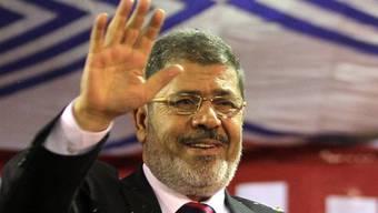 In Führung: Der Kandidat der Muslimbrüder, Mohammed Mursi (Archiv)