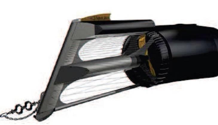 Installierte Leistung: 420 kWRotordurchmesser: 2,5 mAnzahl Strombojen: 6 StückJahresproduktion: 1 700 000 kWhProjektkosten: 3,5 Mio. FrankenStrombedarf für 425 Haushalte