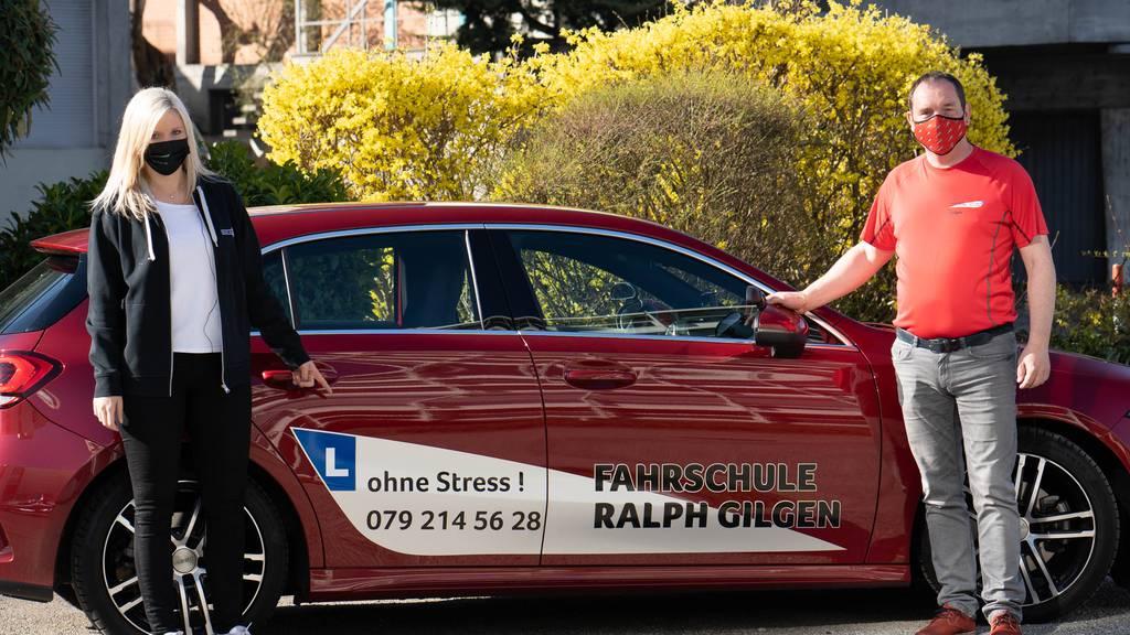 Jasmin Langenegger und Ralph Gilgen