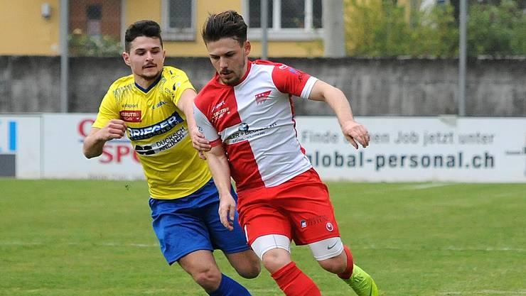 Der FC Solothurn verliert zuhause gegen Delsberg.