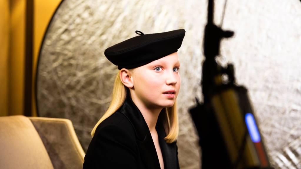 Die zwölfjährige Helena Zengel bekam zwar keinen Golden Globe, kann aber trotzdem stolz sein. Foto: Magdalena Höfner/magdalena hoefner photography /dpa