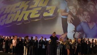 """""""Fack ju Göhte 3"""" hat am Wochenende vom 26. bis 29. Oktober 2017 die Konkurrenz in den Deutschschweizer Kinos in den Schatten gestellt. (Archiv)"""