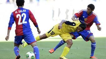 Die beiden Mohameds, Salah und Elneny, fliegen mit dem FCB nach Israel.