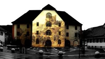 So wird die Kornhausfassade ab 24. November abends zu sehen sein.