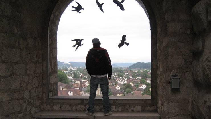Ein Jugendlicher im Jugendheim Aarburg. (Symbolbild)