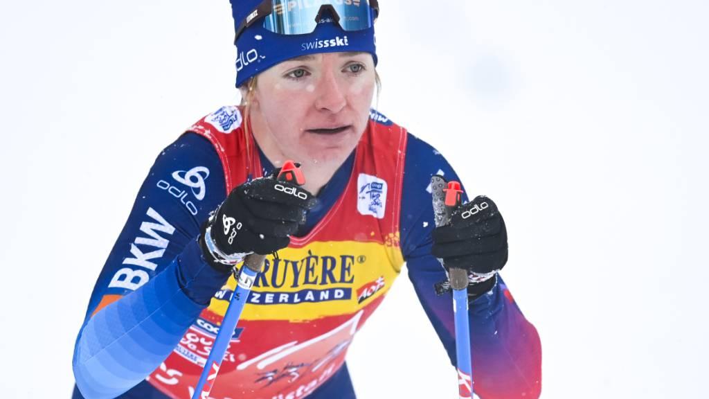 Nadine Fähndrich muss leichten Dämpfer hinnehmen