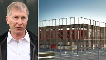 FC-Aarau-Präsident Alfred Schmid ist sehr enttäuscht über die erneute Verzögerung des Stadions.